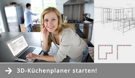 Virtueller Küchenplaner Hannover Küchenstudio H. von Roon
