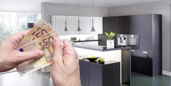 Ratenkauf Finanzierung Küche Küchenstudio Hannover H. von Roon